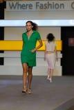 Festival 2008 de mode de Singapour Photographie stock libre de droits