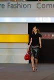 Festival 2008 de mode de Singapour Images libres de droits
