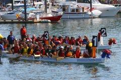 Festival 2008 della barca del drago della Victoria Immagini Stock