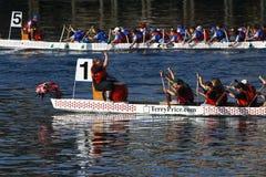 Festival 2009 del barco del dragón de Victoria Imágenes de archivo libres de regalías