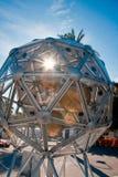 Festival 2009 di scienza - l'indicatore luminoso del diamante Fotografia Stock