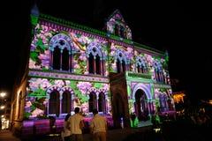Festival 2010 das luzes do norte de Adelaide Imagem de Stock