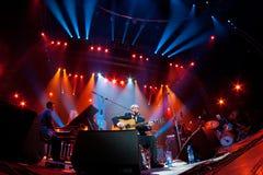 Festival 2010 de bleus de Rawa Image stock