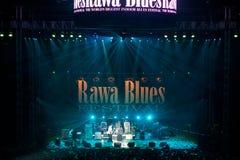 Festival 2010 de bleus de Rawa Photo stock