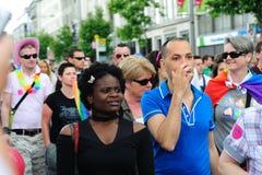 Festival 2010 de fierté de Dublin LGBTQ Images libres de droits