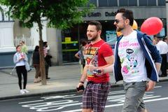 Festival 2010 de fierté de Dublin LGBTQ Image stock
