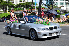 Festival 2010 del hawaiian della sig.na aloha aloha Fotografia Stock Libera da Diritti