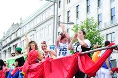 Festival 2010 del orgullo de Dublín LGBTQ Imagenes de archivo