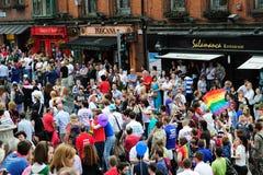 Festival 2010 do orgulho de Dublin LGBTQ Fotos de Stock