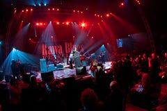 Festival 2010 dos azuis de Rawa Foto de Stock
