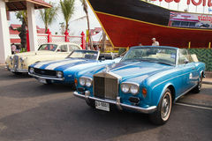 Festival 2011 da parada dos carros do vintage de Hua Hin Imagem de Stock