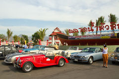 Festival 2011 de défilé de véhicules de cru de Hua Hin Photographie stock