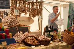 Festival 2011 del alimento de Ludlow Imágenes de archivo libres de regalías