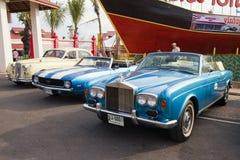 Festival 2011 del desfile de los coches de la vendimia de Hua Hin Imagen de archivo
