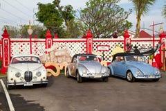 Festival 2011 del desfile de los coches de la vendimia de Hua Hin Fotografía de archivo