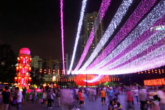 Festival 2011 del Mediados de-Otoño de Hong-Kong Fotografía de archivo