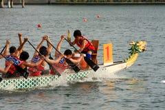Festival 2011 della barca del drago della Malesia fotografie stock