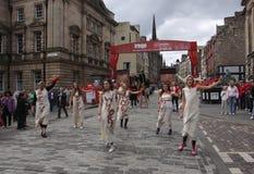 Festival 2011 della frangia di Edinburgh immagini stock libere da diritti