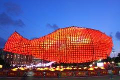 Festival 2011 di Metà di-Autunno di Hong Kong fotografia stock libera da diritti
