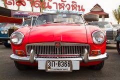 Festival 2011 di parata delle automobili dell'annata del Hua Hin Immagine Stock