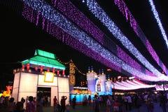 Festival 2011 do Meados de-Outono de Hong Kong Fotos de Stock Royalty Free
