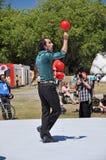 Festival 2012 de Buskers du monde - Las Cossas Nostra Image libre de droits