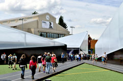 Festival 2012 van de ventilator Olympische Proeven Royalty-vrije Stock Foto