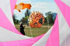 Festival 2012 van de Vlieger van Thailand het Internationale Stock Foto's