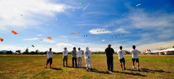 Festival 2012 van de Vlieger van Thailand het Internationale Stock Afbeeldingen