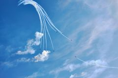 Festival aéreo Fotografia de Stock Royalty Free