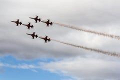 Festival aéreo de estrelas turcas Fotografia de Stock