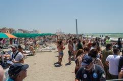 Festival aéreo 2014 de Roma Imagens de Stock