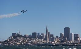 Festival aéreo de San Francisco Fleet Week Foto de Stock Royalty Free