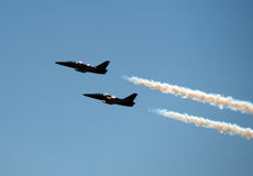 Festival aéreo de San Francisco Fleet Week Fotografia de Stock