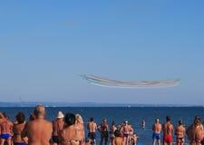 Festival aéreo espetacular em Itália Fotos de Stock Royalty Free
