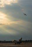 Festival aéreo internacional de Bucareste - Eurofighter Typhoon FGR4 Imagem de Stock