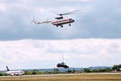 Festival aéreo MAKS-2009 O espaço aéreo internacional da exposição Foto de Stock Royalty Free