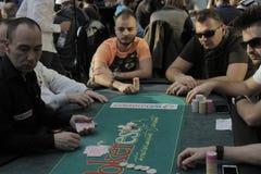 Festival aberto do pôquer de Winmasters Fotografia de Stock Royalty Free