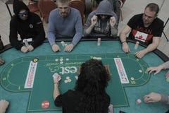 Festival aberto do pôquer de Winmasters Fotos de Stock Royalty Free