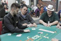 Festival aberto do pôquer de Winmasters Foto de Stock