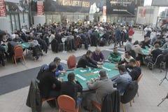 Festival aberto do pôquer de Winmasters Imagens de Stock Royalty Free