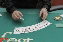 Festival aberto do pôquer de Winmasters Fotos de Stock
