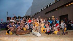 Festival aborigen en Sydney fotos de archivo libres de regalías