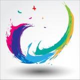 Festival abstrait de Songkran de fond Image stock