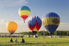 The festival of Aeronautics Stock Image