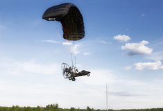 The festival of Aeronautics Moscow Sky Stock Images