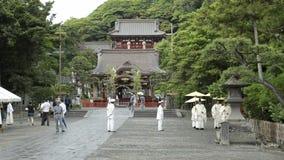 Festival al santuario di Tsurugaoka Hachimangu archivi video
