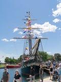 Festival alto 10 de las naves de Brockville imagen de archivo