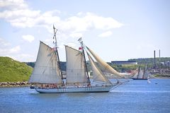 Festival alto de las naves de Nueva Escocia 2009 Imagen de archivo