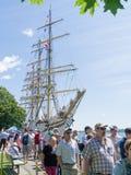 Festival alto 2 dos navios de Brockville Fotografia de Stock Royalty Free